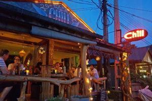 Chill kveld på Chill i Ella (Sri Lanka)