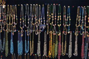 Glassperler - ferdige smykker