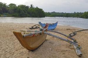 Mangrove beach cabanas lagunen