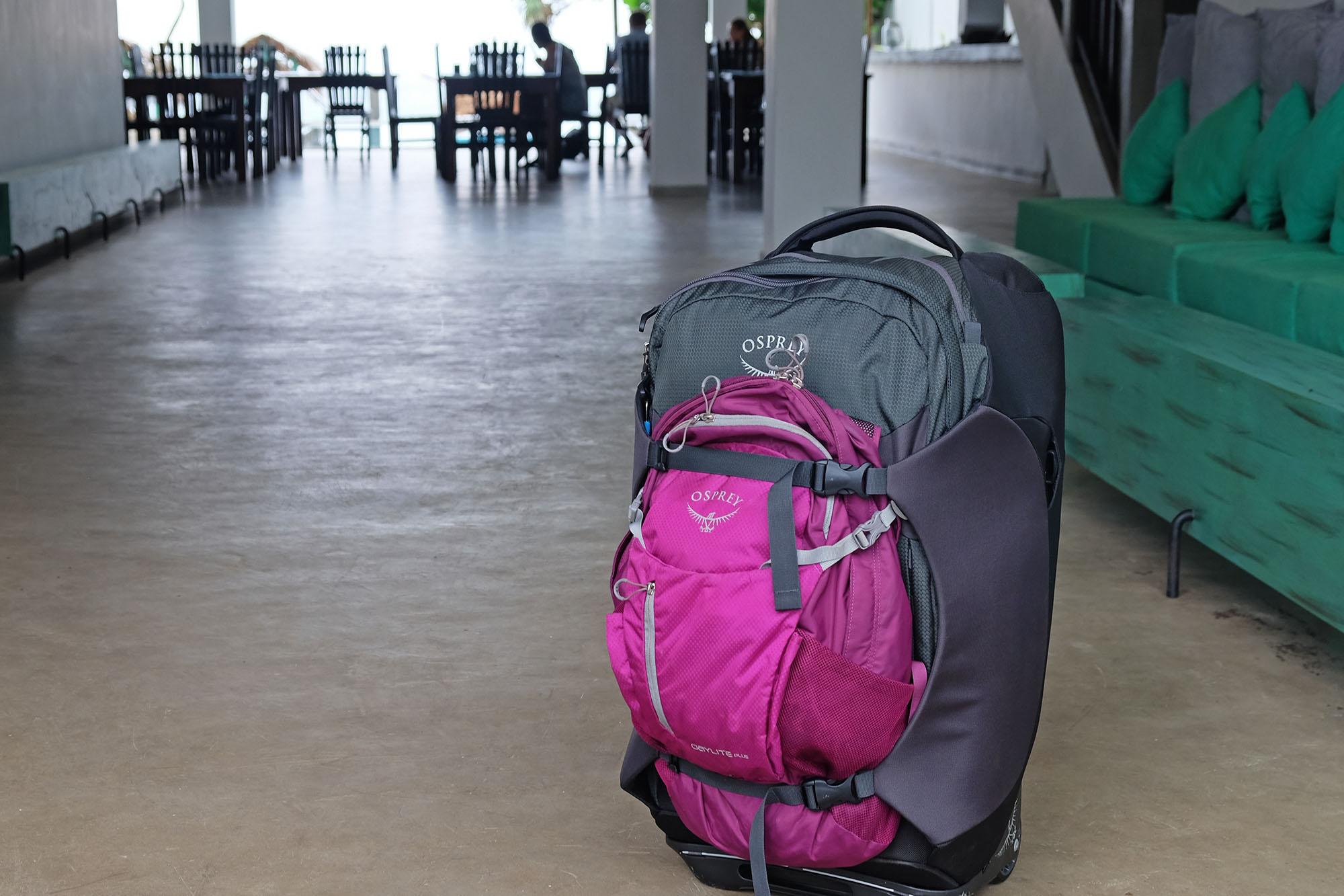 Osrpey reisesekk - Sojourn 60 og Daylite Plus