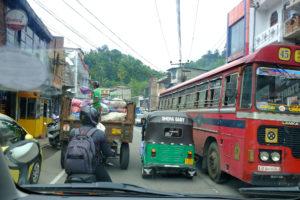 trafikk i sri lanka