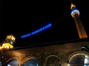 Tirana kveldsstemning