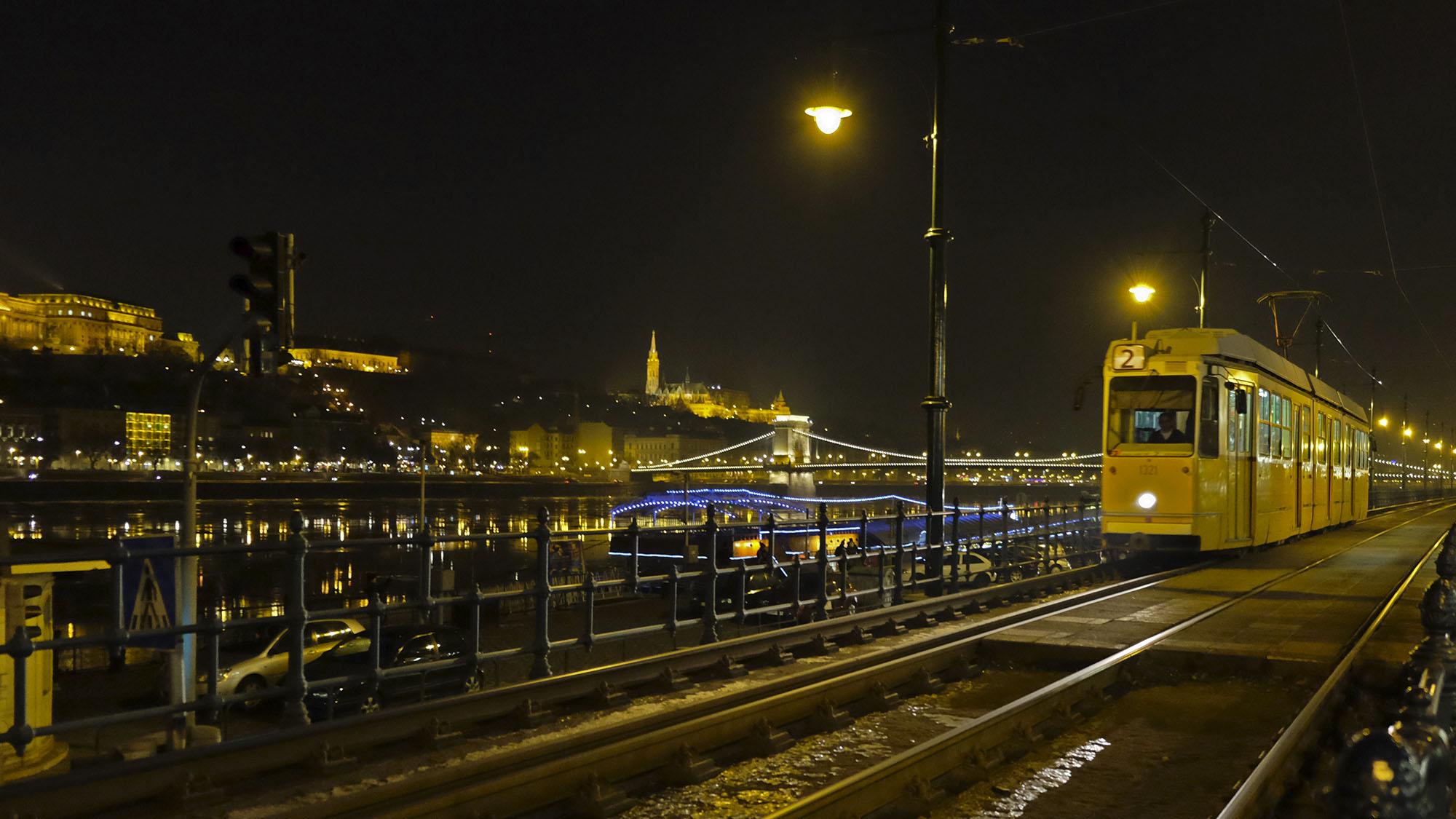 Budapest - tram no two